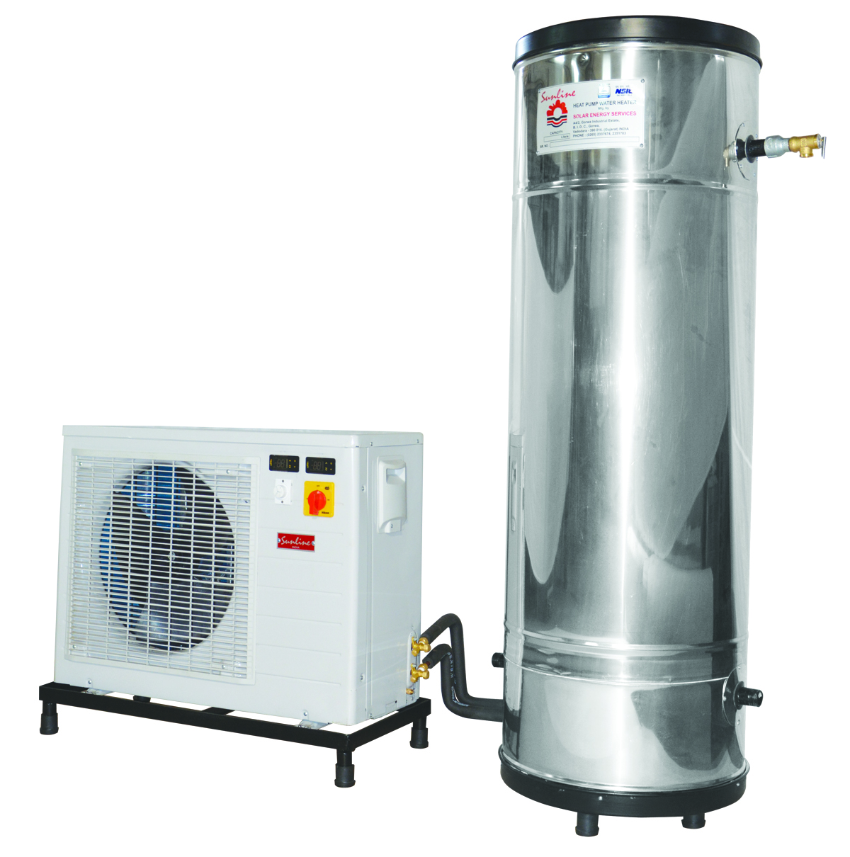 Sunline Heat Pump Water Heater Air To Water